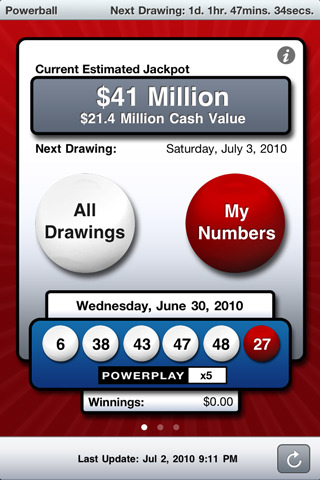 5 Top Lottery Apps for iPhone