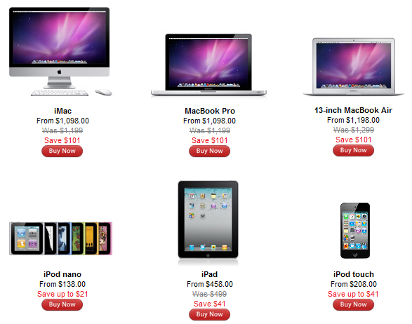 Apple offers Black Friday Deals on iPad, iPhone, …