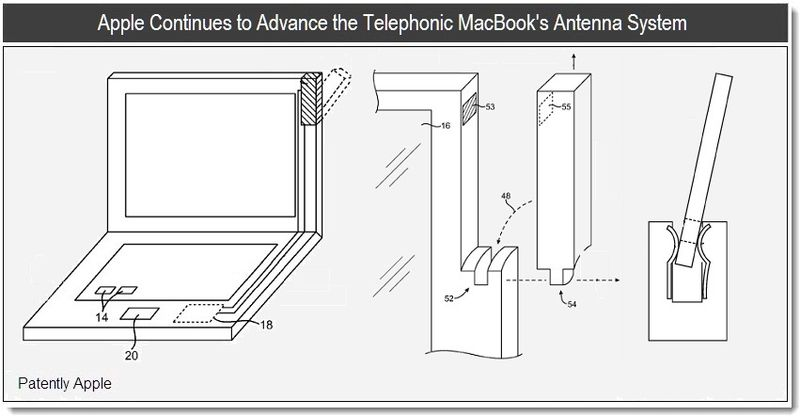 Apple Working On Advanced Antennas for Macbooks?