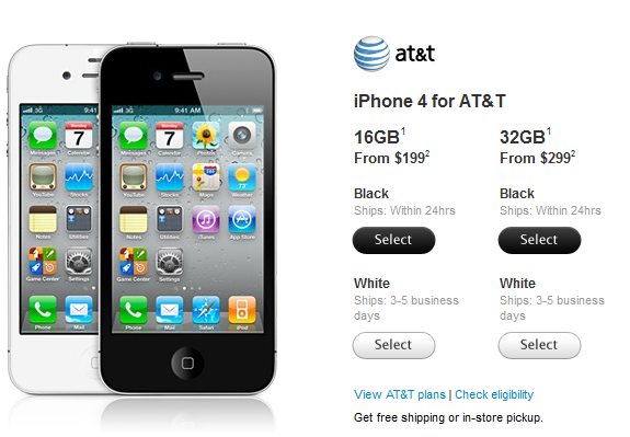 White iPhone Now Available!