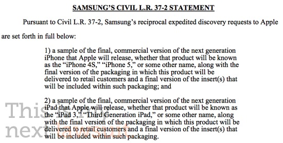 Samsung To Apple: Show Us The New iPhone