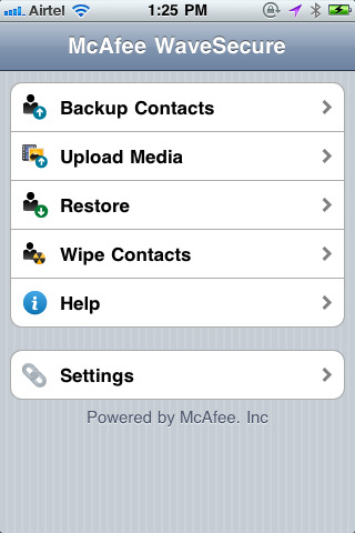 McAfee Introduces WaveSecure Anti-Theft App for iPhone
