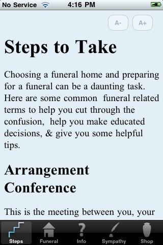 3 Decent iPhone Apps for Funerals