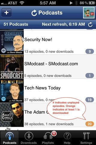 how to download a podcast on my iphone