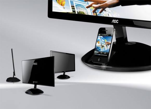 AOC To Release e2343Fi Monitor with iPhone dock