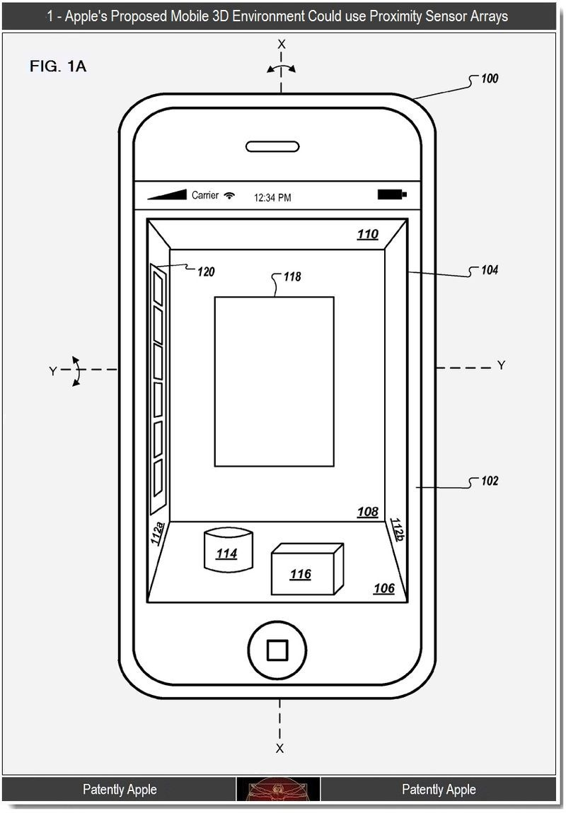 Apple Working on a 3D GUI for iOS?