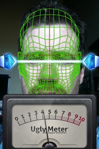 Ugly Meter iPhone App, iPhone-carrying Bra Surface