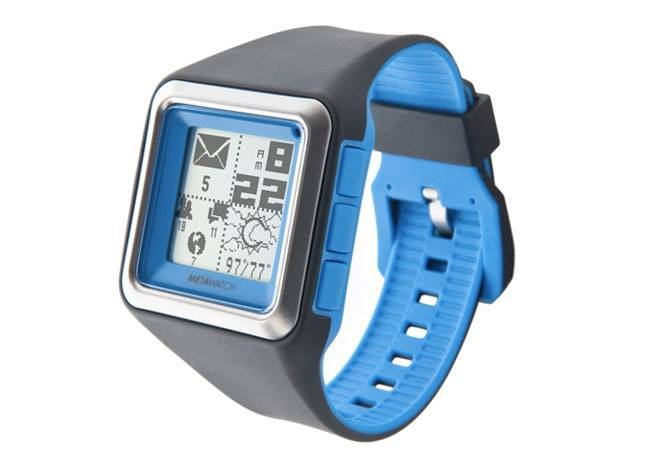 MetaWatch Strata Smartwatch, Stabil-i Case for iPhone