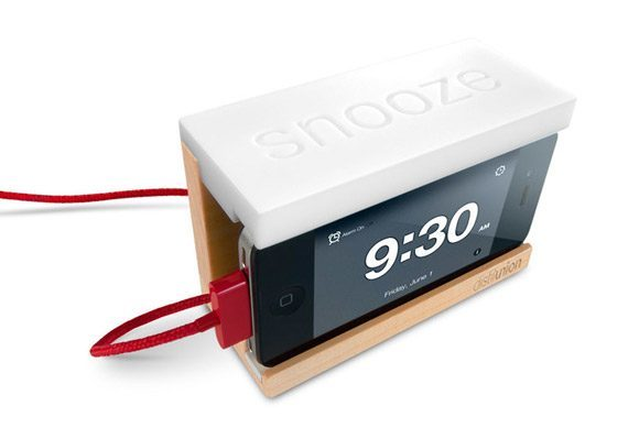 iphone alarm 10 Super Cool iPhone Docks You Should See