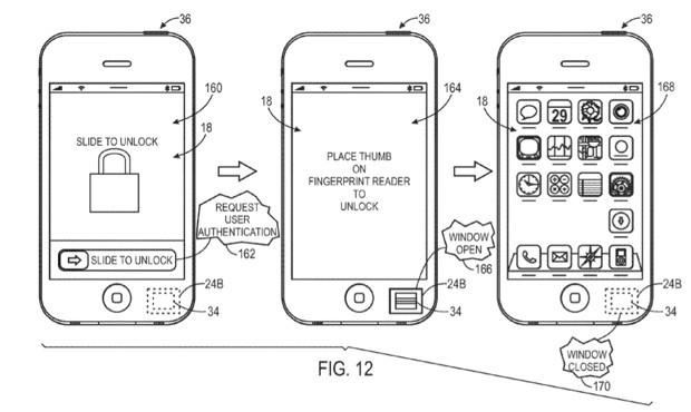 Sensus Case with Touch-Sensitive Back, Apple's Patent Application on Biometric Tech