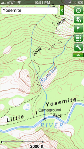 5 Quality Topo Maps Apps for iPhone