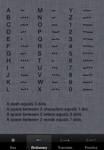 morse code