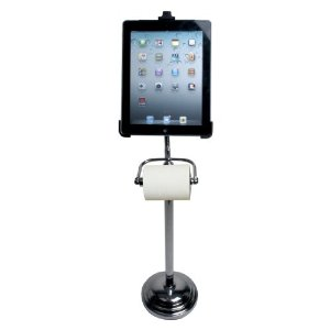 2 Toilet Stands for iPad