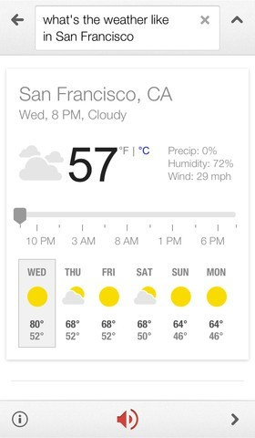 iPhone 5 vs. Galaxy S4 Test, Google Now for iPhone