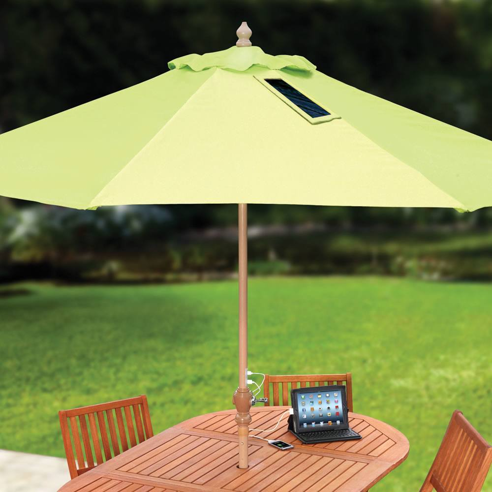 Solar Umbrella for iPhone and Tablets