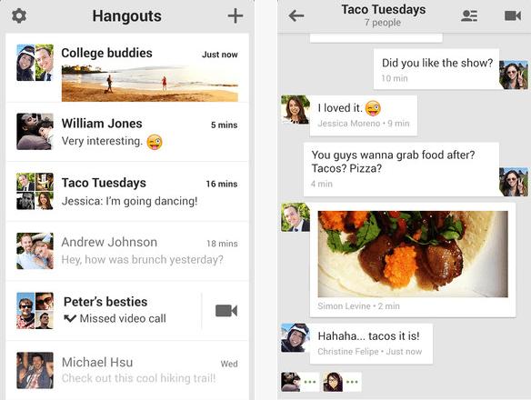 iOS 7 & Head Movements Controls, Google+ Hangouts Update