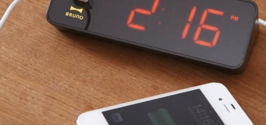 led iphone clock