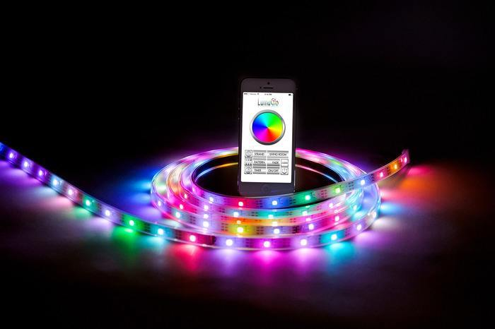 Lumaglo Modular Bluetooth Led Strips For Iphone Amp Android