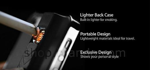 lighter back case
