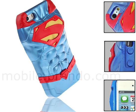 3D Printed Superman Case for iPhone 5s - iPhoneNess