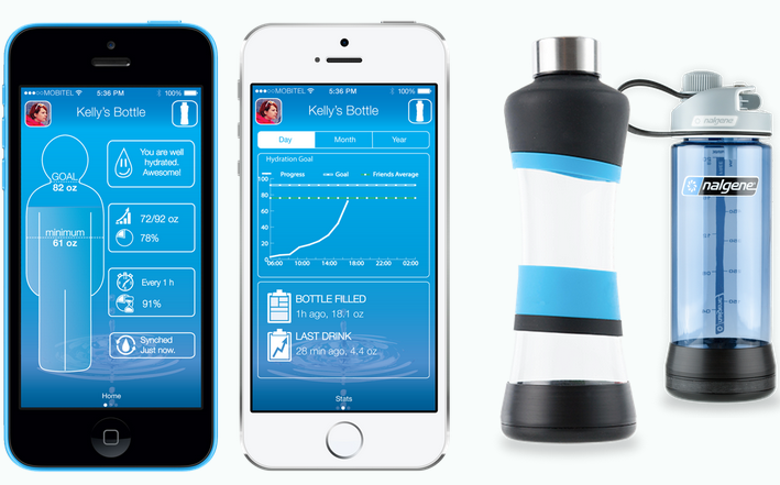 Smart Water Bottles H2o-pal Water Bottle a Smart