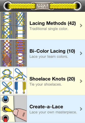 50+ Ways to tie your shoes 1.12.08.14 Apps for Android