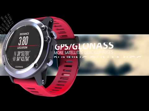 Garmin Fenix 3 Sapphire Smartwatch W Notifications