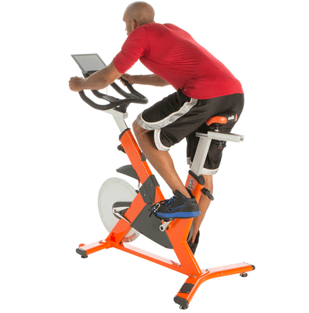 Ronman Triathlon X Cl 510 Indoor Training Cycle This Smart Bike Has Bluetooth Letting You Track Your Workouts On Ios Android Device
