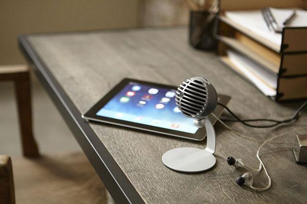 美国舒尔MV5数字电容式麦克风(为iOS设备设计)