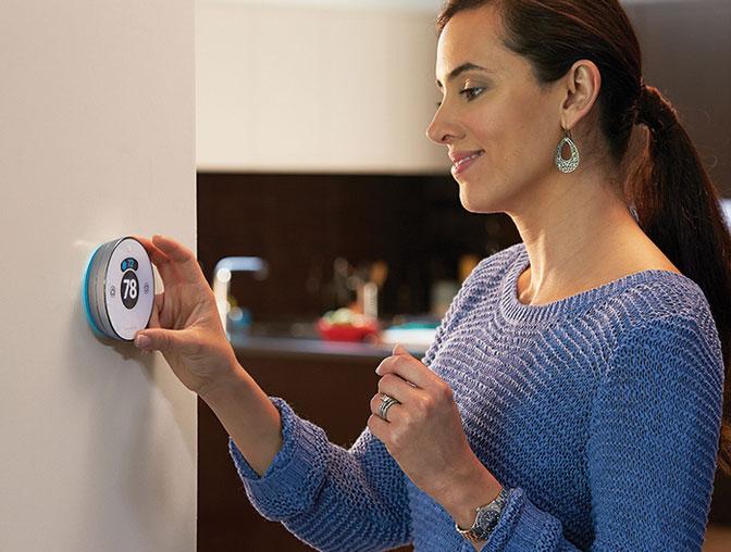 Lyric-Round-thermostat