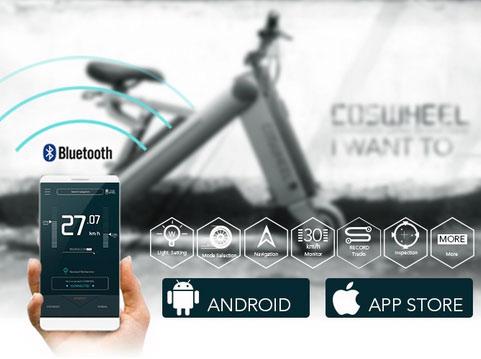 Coswheel-A-ONE-Smart-Folding-Electric-Bike