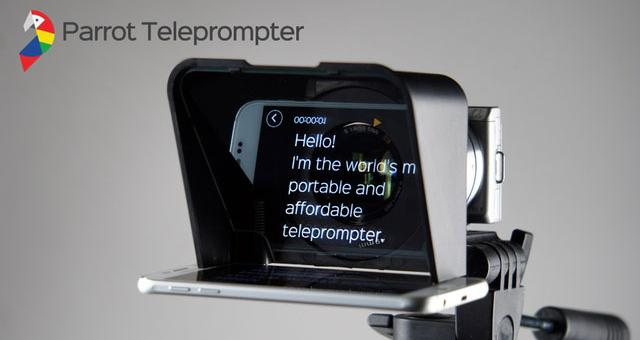 parrot-teleprompter