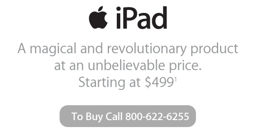 iPad Comes to MacMall, Camera In The Works?