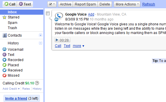 Google Voice on iPhone: Any Chance for Native App? -