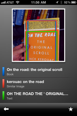 Google Goggles Now on iPhone