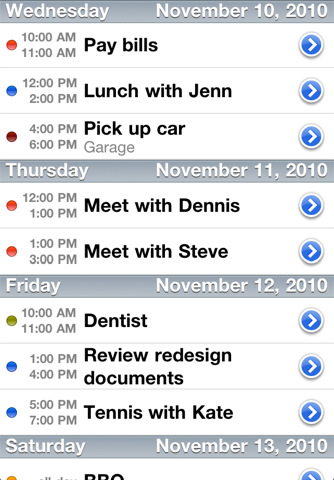 best schedule app for iphone top calendar apps for iphone amp iphone calendars 5218