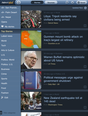 10 Best News Applications for iPad