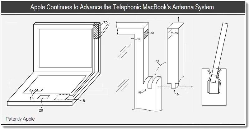 Apple Working On Advanced Antennas for Macbooks?