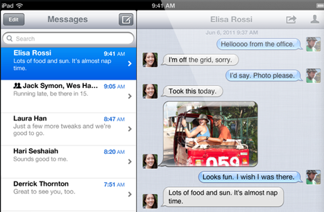 iMessage A Shock for Carriers?