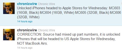 Rumor: Unlocked iPhones, Nuance Support in iOS 5
