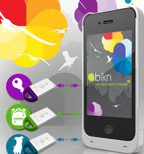 BiKN for iPhone: Locate Things on Your Phone