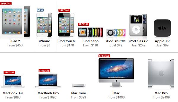 Apple's Black Friday Deals: Macs, Tablets, ..