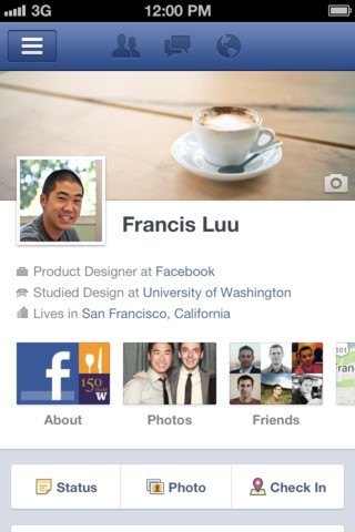 Facebook for iPhone Gets Timeline, iPad Update Coming