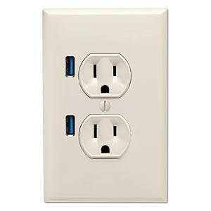 Add USB To Wall Outlets To Charge iPhone (7 Ways)