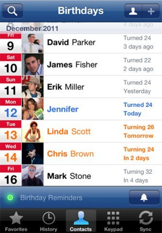 4 Cool Facebook Contact Sync Apps for iPhone