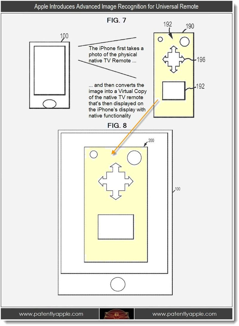 Apple Patents: Universal Remote, Glass Gadgets