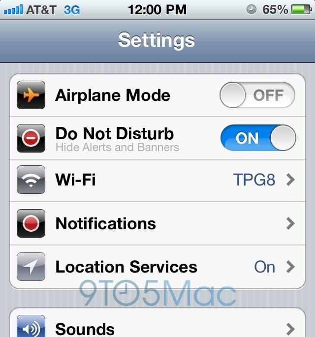 iOS 6 Rumors: Facebook, Siri, Do Not Disturb, …