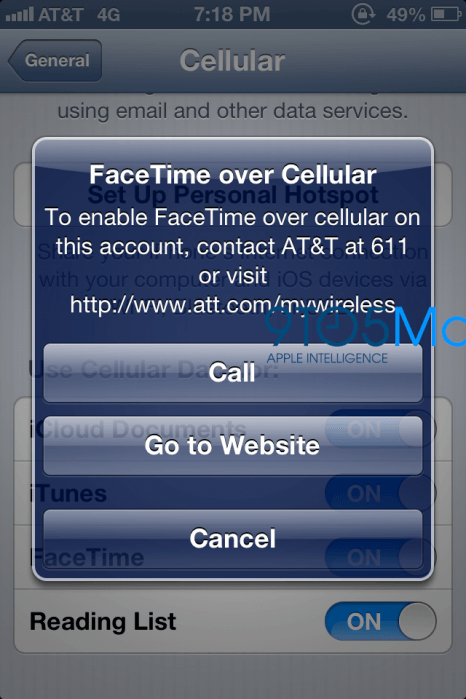 iPhone 5 To Have Thinner, Better Display, AT&T To Charge for FaceTime?