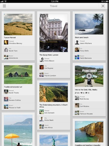 Pinterest for iPad Debuts, Cardiio Tells Heart Rate From Video