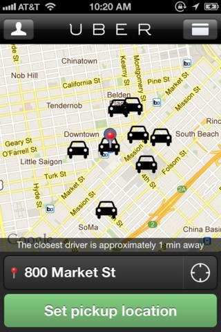 Get a Taxi Cab with an iPhone: 5 Taxi Apps